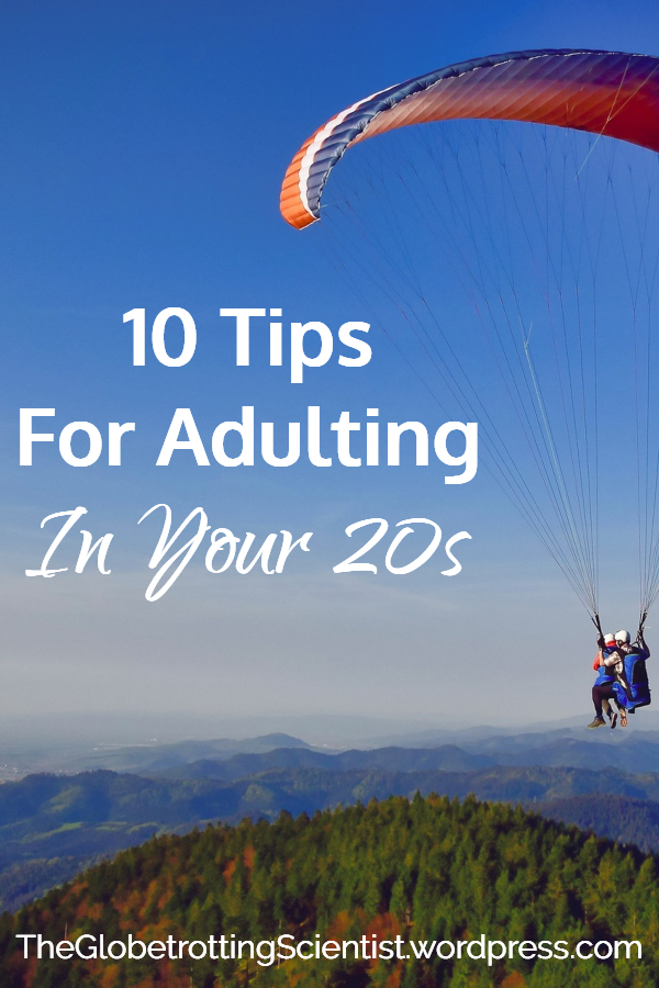 10 Tips for Adulting in Your 20s